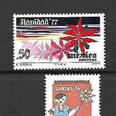Sellos: SELLOS DE NAVIDAD. ,MÉXICO. AÑOS 1977/79. Lote 295422223
