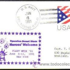 Sellos: USA 1991 TORMENTA DEL DESIERTO. Lote 11333185