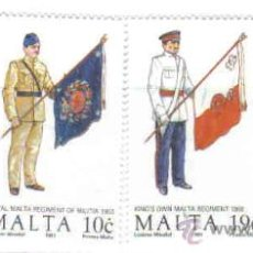 Sellos: MALTA - UNIFORMES MILITARES (V)***. Lote 23757169