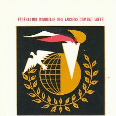 Sellos: FRANCIA IVERT Nº 1292, FEDERACIÓN ANTIGUOS COMBATIENTES, 2ª GUERRA MUNDIAL MÁXIMA PRIMER DIA 6-5-196. Lote 30645762