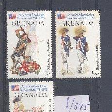 Selos: GRENADA, BICENTENARIO DE LA REVOLUCION AMERICANA, LOTE DE SELLOS. Lote 34635181
