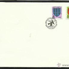 Sellos: JERSEY 1988 SOBRE PRIMER DIA CIRCULACION ESCUDOS DE ARMAS- MILITAR- FDC. Lote 46164653