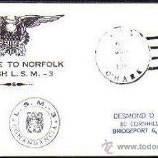 Sellos: ARMADA ESPAÑOLA 1960 LANCHA DESEMBARCO LSM-3 + MENDEZ NUÑEZ. Lote 40937149