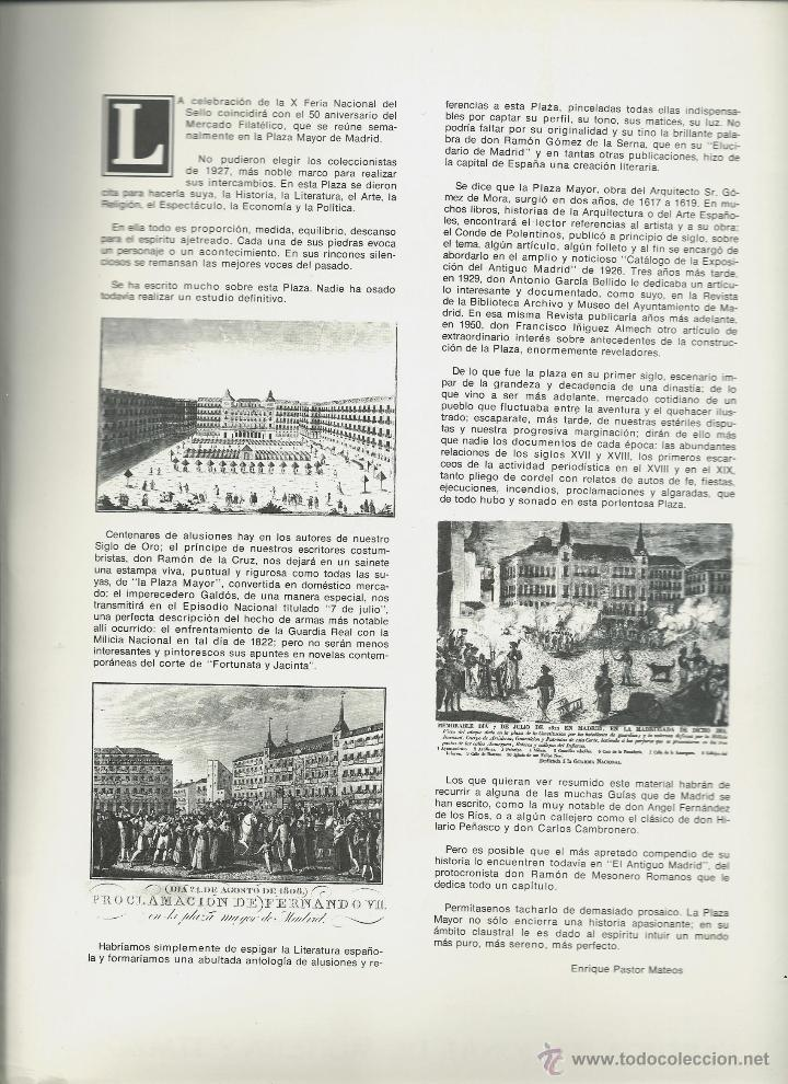 Sellos: DOCUMENTO FILATELICO DE L 50 ANIVERSARIO MERCADO FILATELICO CON MATASELLOS ESPECIAL DE 7 - 5 - 77 - Foto 2 - 191901887