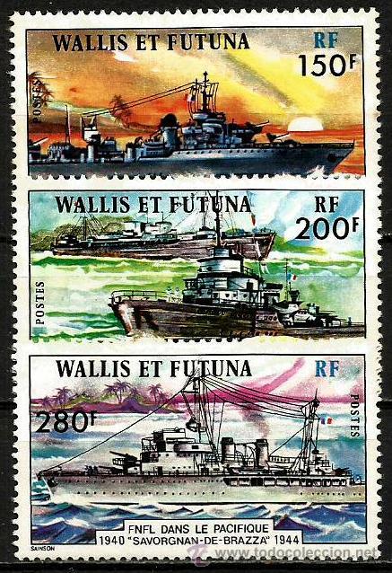 WALLIS Y FUTUNA 1978 ** (Sellos - Temáticas - Militar)
