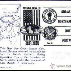 Sellos: USA 1992 DESEMBARCO NORTE DE AFRICA II GUERRA. Lote 40000520