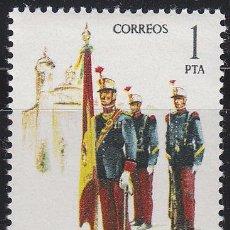 Sellos: EDIFIL 2451, ABANDERADO DEL REGIMIENTO INMEMORIAL DEL REY DE 1908, NUEVO ***. Lote 53420908