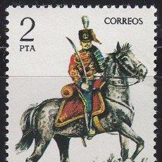 Sellos: EDIFIL 2452, TENIENTE CORONEL DE HUSARES DE PAVIA DE 1909, NUEVO *** . Lote 53420918