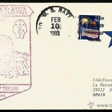 Sellos: USA BUQUE ASALTO ANFIBIO USS TARAWA LHA-1. Lote 53471652
