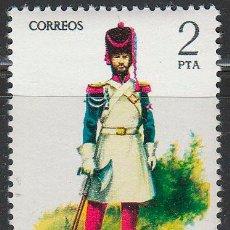 Sellos: EDIFIL 2351, UNIFORMES MILITARES: GASTADOR D INFANTERIA DE LINEA DE 1821, NUEVO ***. Lote 53682486