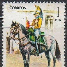 Sellos: EDIFIL 2350, UNIFORMES MILITARES:TROMPETA DE ALCANTARA DE LINEA DE LINEA DE 1815, NUEVO ***. Lote 53682538