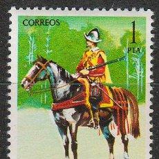 Sellos: EDIFIL 2167, UNIFORMES MILITARES: ARCABUCERO ECUESTRE DE 1603, NUEVO ***. Lote 54323447