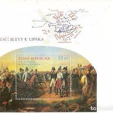 Sellos: REPÚBLICA CHECA ** & NAPOLEÓN, 200 AÑOS DE BATALLA DE LEIPZIG 2013 (7657). Lote 73432963