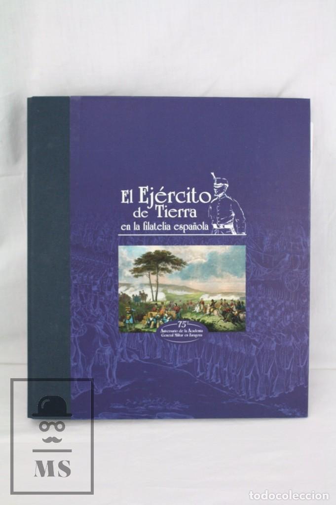 Sellos: Colección de Sellos - El Ejército de Tierra en la Filatelia Española, 1927-2002 - Edición Limitada - Foto 2 - 77218489