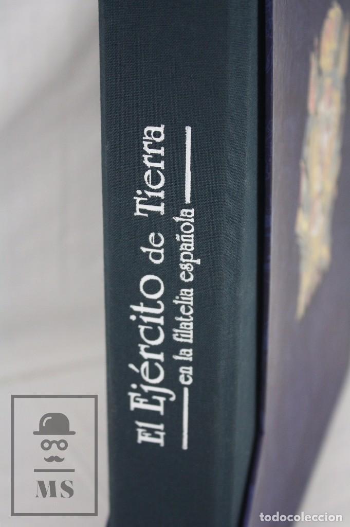 Sellos: Colección de Sellos - El Ejército de Tierra en la Filatelia Española, 1927-2002 - Edición Limitada - Foto 4 - 77218489