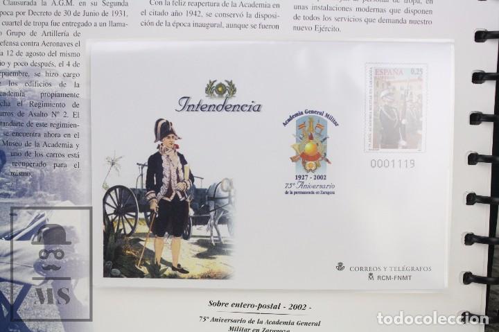 Sellos: Colección de Sellos - El Ejército de Tierra en la Filatelia Española, 1927-2002 - Edición Limitada - Foto 5 - 77218489