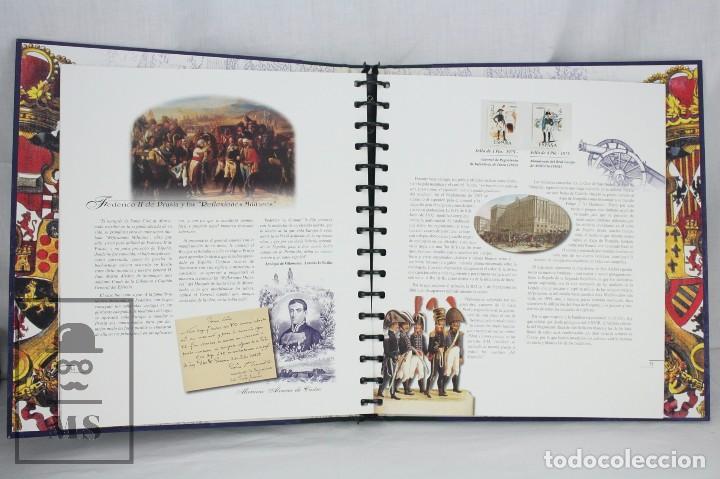 Sellos: Colección de Sellos - El Ejército de Tierra en la Filatelia Española, 1927-2002 - Edición Limitada - Foto 6 - 77218489