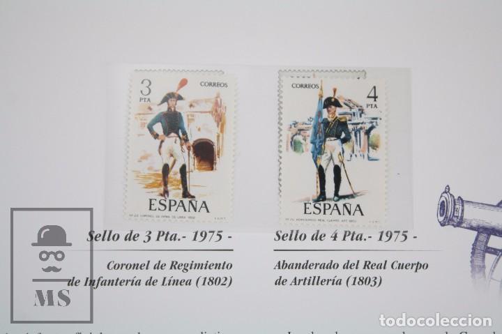 Sellos: Colección de Sellos - El Ejército de Tierra en la Filatelia Española, 1927-2002 - Edición Limitada - Foto 7 - 77218489
