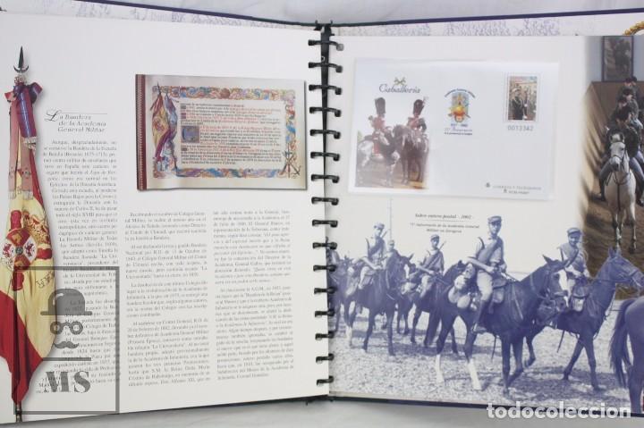 Sellos: Colección de Sellos - El Ejército de Tierra en la Filatelia Española, 1927-2002 - Edición Limitada - Foto 8 - 77218489