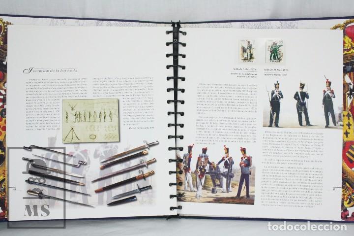 Sellos: Colección de Sellos - El Ejército de Tierra en la Filatelia Española, 1927-2002 - Edición Limitada - Foto 10 - 77218489