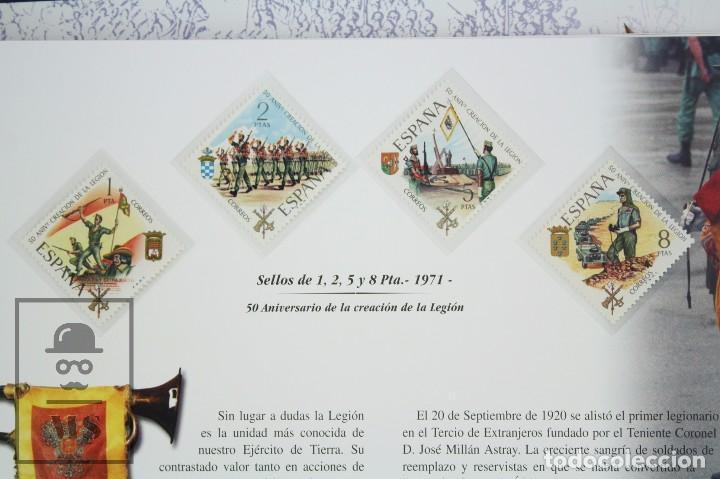 Sellos: Colección de Sellos - El Ejército de Tierra en la Filatelia Española, 1927-2002 - Edición Limitada - Foto 12 - 77218489