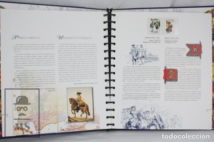 Sellos: Colección de Sellos - El Ejército de Tierra en la Filatelia Española, 1927-2002 - Edición Limitada - Foto 14 - 77218489