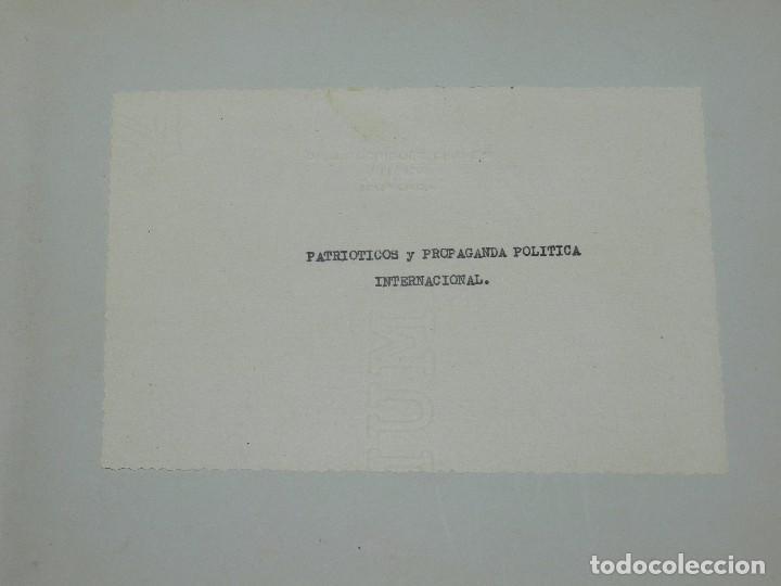 Sellos: (M) LOTE DE 1290 VIÑETAS TEMA PATRIOTICOS Y PROPAGANDA POLITICA INTERNACIONAL AÑOS 30 - Foto 2 - 93678150