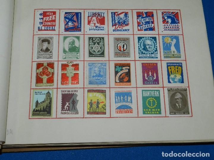 Sellos: (M) LOTE DE 1290 VIÑETAS TEMA PATRIOTICOS Y PROPAGANDA POLITICA INTERNACIONAL AÑOS 30 - Foto 6 - 93678150