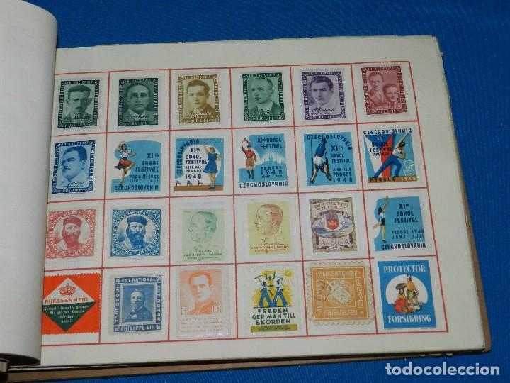 Sellos: (M) LOTE DE 1290 VIÑETAS TEMA PATRIOTICOS Y PROPAGANDA POLITICA INTERNACIONAL AÑOS 30 - Foto 13 - 93678150