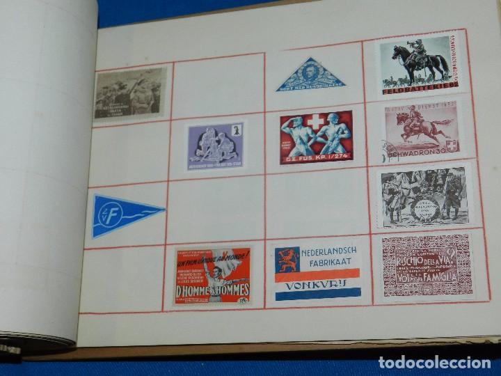 Sellos: (M) LOTE DE 1290 VIÑETAS TEMA PATRIOTICOS Y PROPAGANDA POLITICA INTERNACIONAL AÑOS 30 - Foto 18 - 93678150