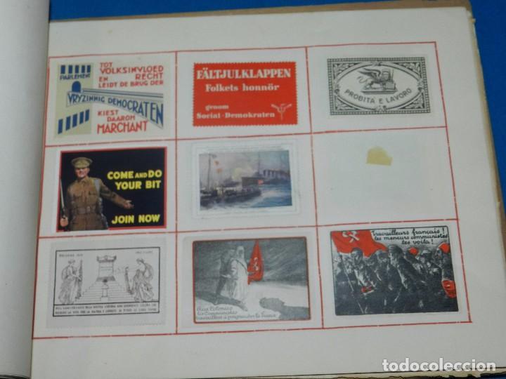 Sellos: (M) LOTE DE 1290 VIÑETAS TEMA PATRIOTICOS Y PROPAGANDA POLITICA INTERNACIONAL AÑOS 30 - Foto 28 - 93678150