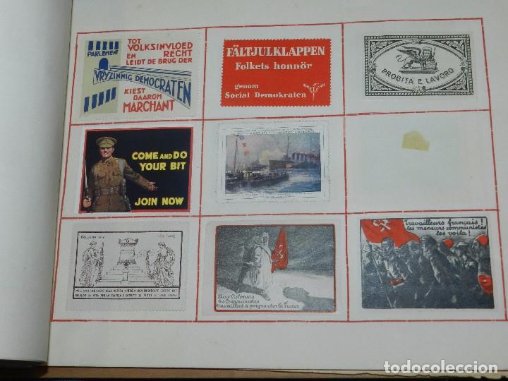 Sellos: (M) LOTE DE 1290 VIÑETAS TEMA PATRIOTICOS Y PROPAGANDA POLITICA INTERNACIONAL AÑOS 30 - Foto 30 - 93678150