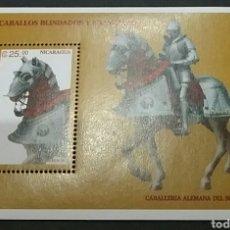 Sellos: HB / SELLOS DE NICARAGUA NUEVOS. 1996. CABALLOS. MILITAR. MEDIEVAL. ANIMALES. FAUNA. UNIFORMES.. Lote 97441506