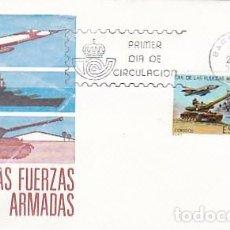 Sellos: EDIFIL 2525, DIA DE LAS FUERZAS ARMADAS, PRIMER DIA DE 25-5-1979 SOBRE DEL SFC. Lote 97719787