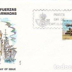 Sellos: EDIFIL 2525, DIA DE LAS FUERZAS ARMADAS, PRIMER DIA DE 25-5-1979 EN SOBRE DE ALFIL . Lote 97796699
