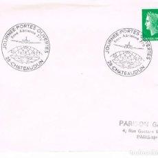Sellos: FRANCIA, BASE AEREA 279, JORNADA DE PUERTAS ABIERTAS, MATASELLO DE CHATEAUDUN DE 13-6-1971. Lote 108820407