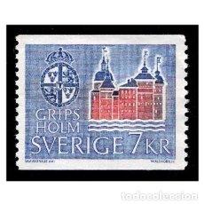 Timbres: SUECIA 1967 YVERT 560. CASTILLOS. GRIPSHOLM. NUEVO* MH. Lote 110235891
