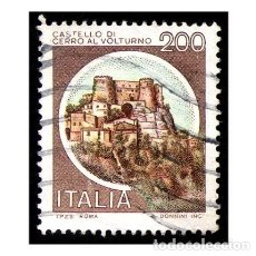 Timbres: ITALIA 1980. MICHEL 1713II. IVERT 1445. CASTILLOS - CERRO AL VOLTURNO. USADO. Lote 110488447