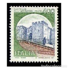 Timbres: ITALIA 1980. MICHEL 1717III. IVERT 1449. CASTILLO DEL EMPERADOR (PRATO) USADO. Lote 110488699
