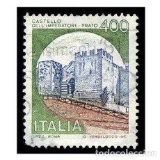 Timbres: ITALIA 1980. MICHEL 1717III. IVERT 1449. CASTILLO DEL EMPERADOR (PRATO) USADO. Lote 110488719