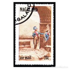 Timbres: NAGALAND 1972. SERIE NAPOLEÓN BONAPARTE 06. USADO. Lote 113296647