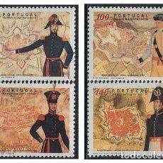 Sellos: PORTUGAL - 350 ANIV. INGENIERIA MILITAR (1998) **. Lote 116438819