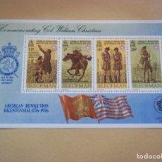 Sellos: HOJA DE BLOQUE ISLE OF MAN NUEVOS CON GOMA. Lote 116487679