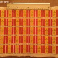 Sellos: BLOQUE 50 VIÑETAS SELLOS FRANQUISTAS PATRIOTICOS UNIDAD ESPAÑOLA 1936 1975 M B E ORIGEN. Lote 145779824