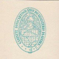 Sellos: BRASIL, 50 ANIVERSARIO DEL GABINETE FOTOCARTOGRAFICO DEL MINISTERIO DE LA GUERRA MATASELLO 29-4-1959. Lote 121976987