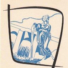Sellos: EDIFIL 1362, CENTRAL HIDROELECTRICA (25 ANIVERSARIO ALZAMIENTO NACIONAL), TARJETA MÁXIMA 10-7-1961. Lote 121977903