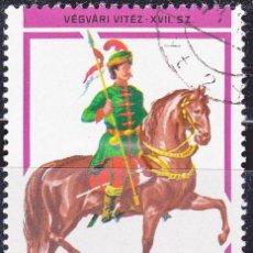 Sellos: 1978 - HUNGRIA - HUSARES - LANCERO SIGLO XVII - YVERT 2592. Lote 134175958