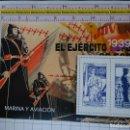 Sellos: HOJA BLOQUE. TEMÁTICA POLÍTICO MILITAR. GUERRA CIVIL ESPAÑOLA. 1939 MARINA Y AVIACIÓN REPUBLICANA. Lote 147337442