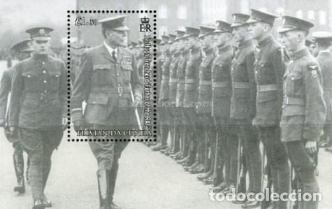 TRISTAN DA CUNHA 2008 90TH ANNIVERSARY OF THE RAF SIR HUGH TRENCHARD (Sellos - Temáticas - Militar)
