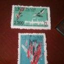 Sellos: SELLOS R. D. VIETNAM NORTE MTDOS/1967/2500 AVIONES ABATIDOS/MILITAR/GUERRA/SOLDADOS/INDUSTRIA/AVIACI. Lote 158382302